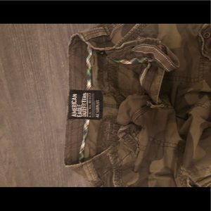 American Eagle Outfitters Pants - Men's Camo American Eagle cargo pants